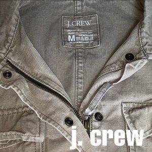 J. Crew Khaki Military Jacket